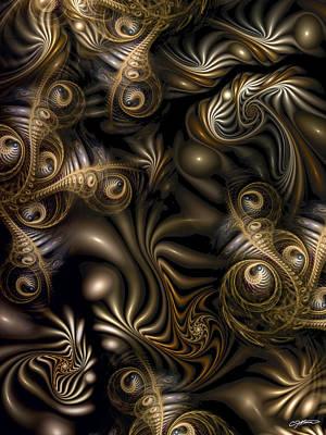 Overruns Digital Art - Overrun by Casey Kotas