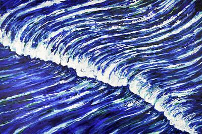 Painting - Oversea by Stevyn Llewellyn