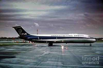 Overseas National Airways Douglas Dc-9-32f, N938f, Cargo Jet Gin Art Print by Wernher Krutein
