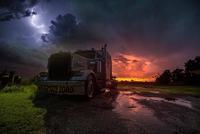 Photograph - Oversize Load  by Aaron J Groen