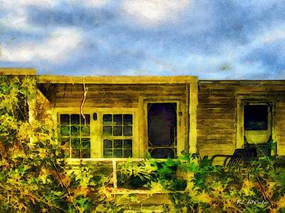 Painting - Overtaken by RC deWinter