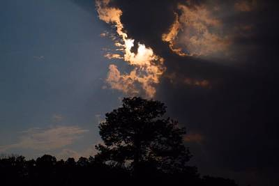 Photograph - Overtaking Sun by Kathryn Meyer