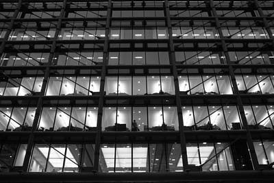 Photograph - Overtime by Lee Fennings