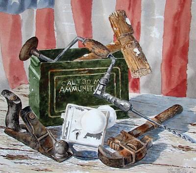 Painting - Overtime by Tony Caviston
