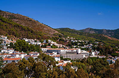 Photograph - Overview Of Mijas Village by Jenny Rainbow