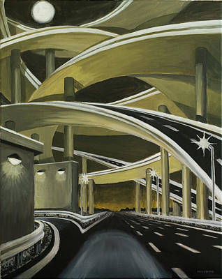 Painting - Overpassed by Tommy Midyette