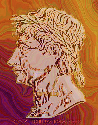 Digital Art - Ovid by Asok Mukhopadhyay