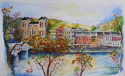 Painting - Owego by Melanie Stanton