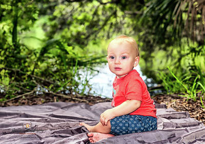 Photograph - Owen Alert by Joedes Photography