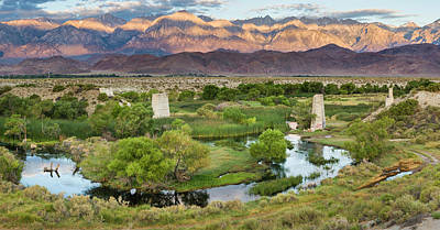 Photograph - Owens River At The Trestles Near Lone Pine by Joe Doherty