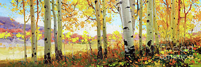 Owl Creek Fall Aspen Original