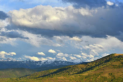 Photograph - Owl Creek Pass From Dallas Divide by Ray Mathis