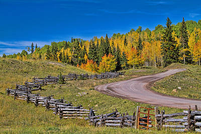 Photograph - Owl Creek Pass Road by Alana Thrower