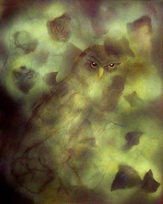 Owl Eyes Art Print by Lynda McDonald