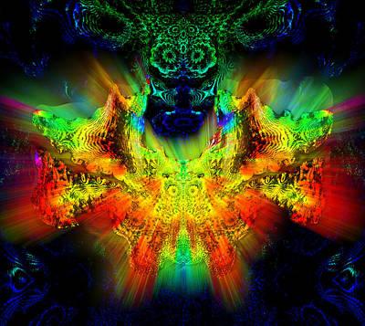 Digital Art - Owl Feng Shui by Feng Shui