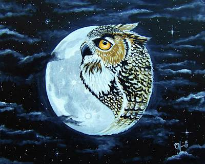 Amy Weiss - Owl Moon by Christina Marin