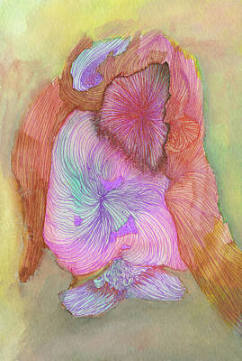 Owl - #ss16dw043 Art Print by Satomi Sugimoto