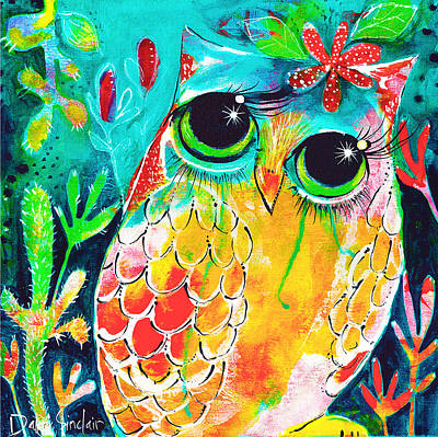 Owlette Art Print by DAKRI Sinclair