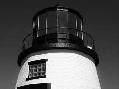 Photograph - Owls Head Lighthouse by Jewels Blake Hamrick