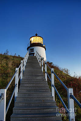 Owls Head Lighthouse Art Print by John Greim