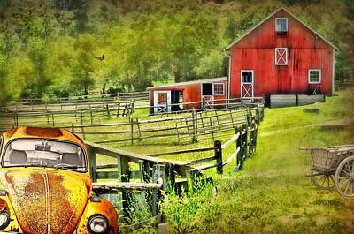 Photograph - Ox Ridge Farm by Diana Angstadt