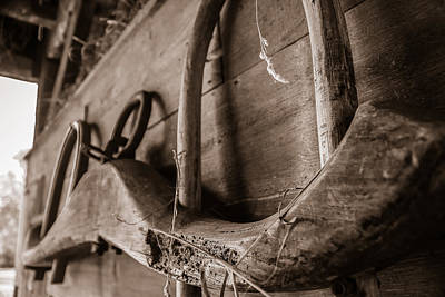 Photograph - Ox Yoke by Chris Bordeleau