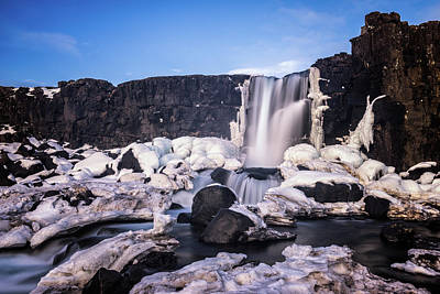 Photograph - Oxararfoss by James Billings