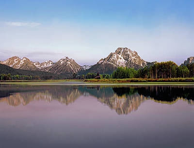 Photograph - Oxbow Bend And Mt. Moran by Paul Breitkreuz