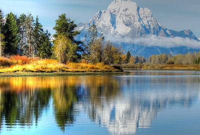 Photograph - Oxbow Bend  by Charlotte Schafer