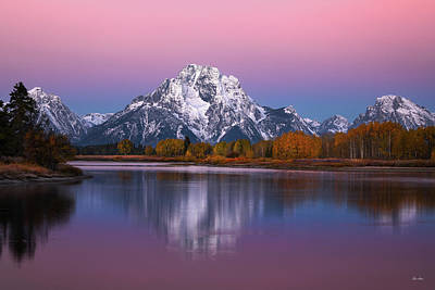 Photograph - Oxbow Bend by Chris Steele