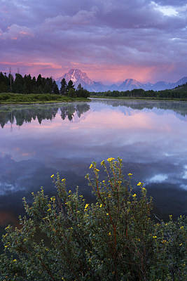 Photograph - Oxbow Bend by Eric Foltz