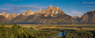 Teton Wall Art - Photograph - Oxbow Bend Grand Tetons by Steve Gadomski