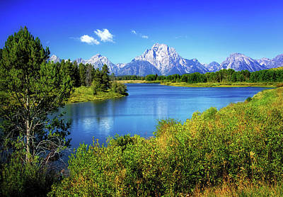 Photograph - Oxbow Bend In The Tetons by Carolyn Derstine