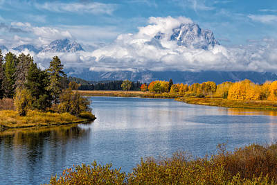 Photograph - Oxbow Bend by Kathleen Bishop