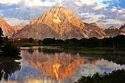 Photograph - Oxbow Bend by Marty Koch