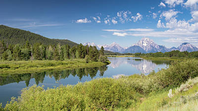Photograph - Oxbow Bend by Phil Stone