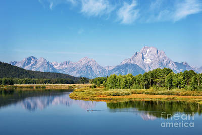 Photograph - Oxbow Bend by Sharon Seaward