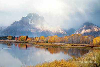 Photograph - Oxbow Bend Turnout, Grand Teton National Park by Greg Kopriva