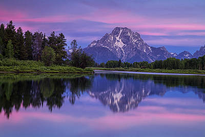 Teton Photograph - Oxbow Morning by Andrew Soundarajan