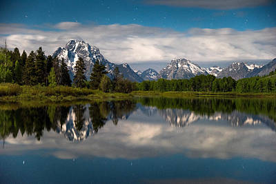 Photograph - Oxbow Nights by Darren  White