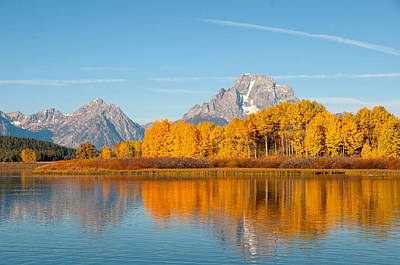 Photograph - Oxbow Reflections by Steve Stuller