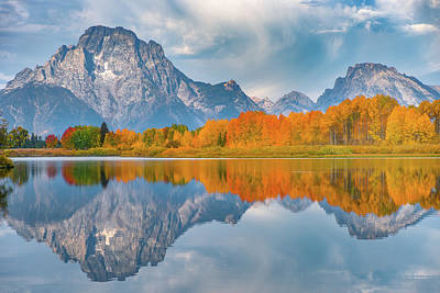 Teton Photograph - Oxbow's Autumn by Darren White