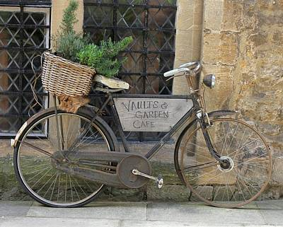 Photograph - Oxford Bicycle by Karin Kohlmeier