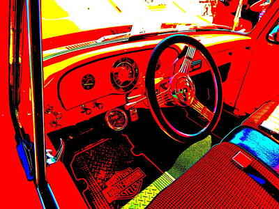 Photograph - Oxford Car Show 153 by George Ramos
