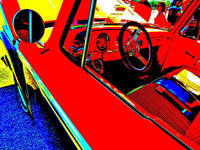 Photograph - Oxford Car Show 154 by George Ramos