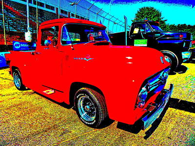 Photograph - Oxford Car Show 158 by George Ramos