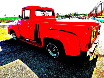 Photograph - Oxford Car Show 163 by George Ramos