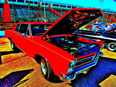 Photograph - Oxford Car Show 172 by George Ramos