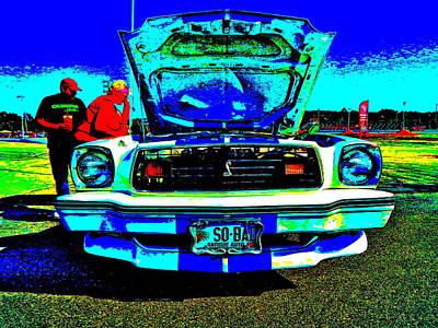 Mach I Photograph - Oxford Car Show 50 by George Ramos