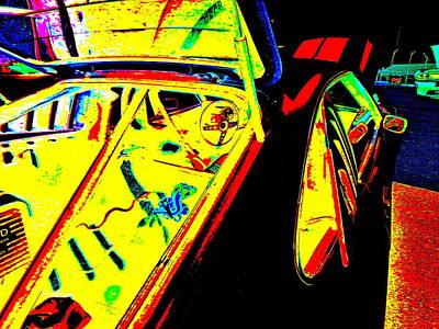 Mach I Photograph - Oxford Car Show 52 by George Ramos